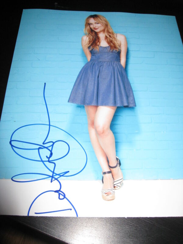 DAKOTA JOHNSON SIGNED AUTOGRAPH 8x10 PHOTO FIFTY SHADES OF GREY BABE IN PERON D