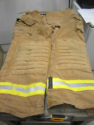 Size 46x32 Morning Pride Fire Fighter Turnout Pants - Vgc