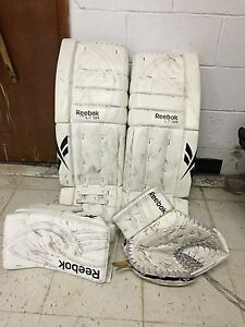 32+2Reebok larceny 7 SR pads IN gloves $500 OBO