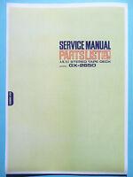 Servicio Manual De Instrucciones Para Akai Gx-265d -  - ebay.es