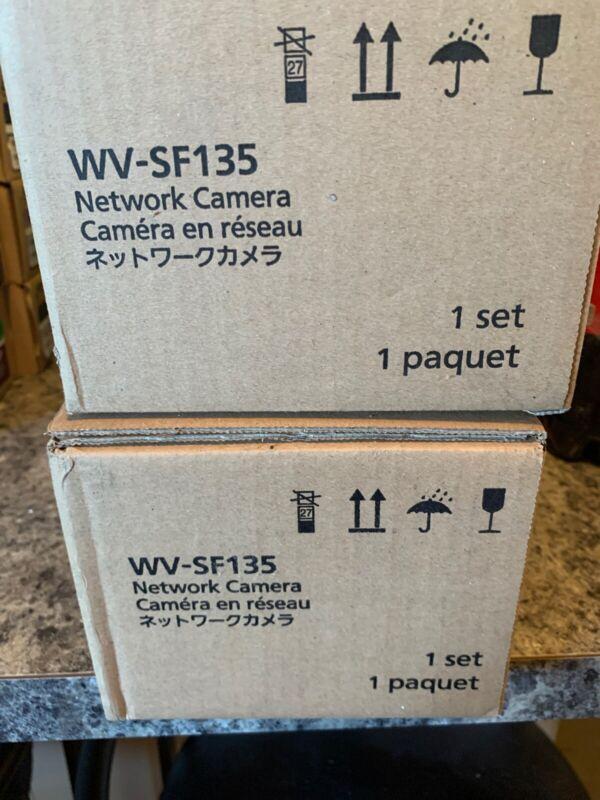 Panasonic WV-SF135 Camera x2