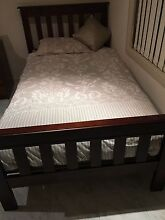 King single bed for sale + mattress only Green Valley Liverpool Area Preview