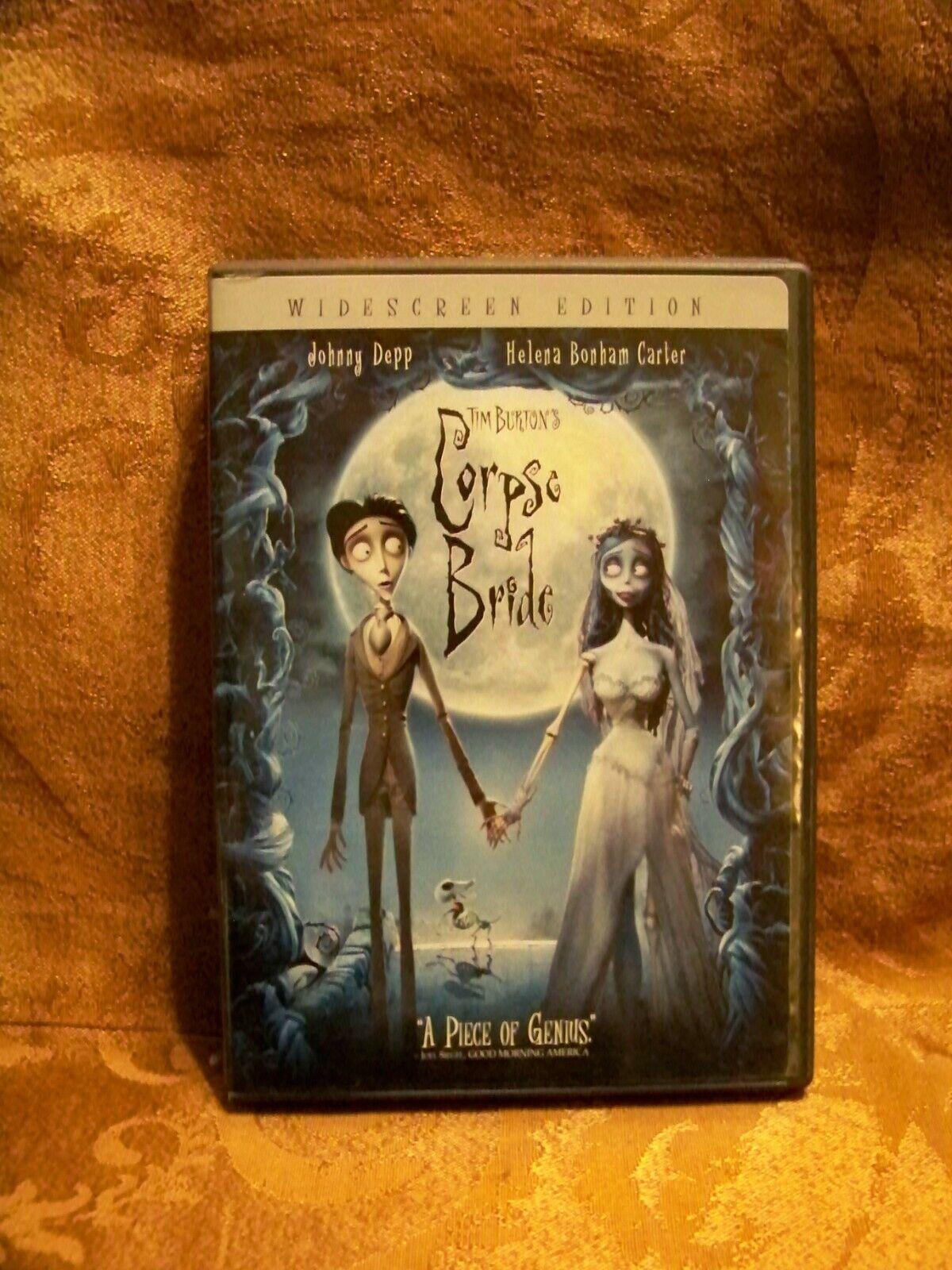 Tim Burtons Corpse Bride DVD, 2006, Widescreen  - $6.99