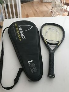 Head Tennis Racquet with case