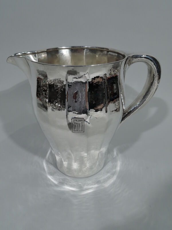 Tiffany Water Pitcher - 17580 - Special Hand Work  American Sterling Silver
