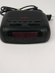SUNBEAM ALARM CLOCK AM/FM RADIO MODEL # 89014