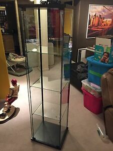 Glass Display cabinet - Asking $70