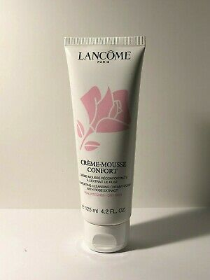 Lancome Creme-Mousse Confort Comforting Cleanser Creamy Foam Dry 4.2oz Sealed