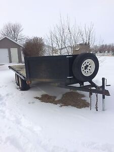 2003 trailtech sm3 sled trailer
