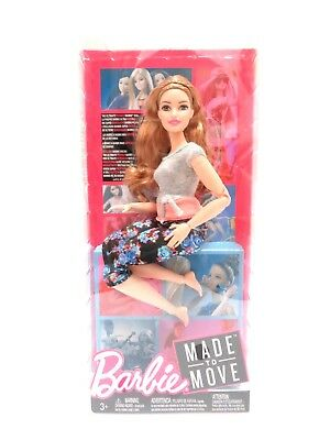 Barbie Made to Move Series Yoga Doll - Light Brown Hair