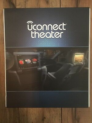 2017 18 Chrysler Pacifica Uconnect Theater Hedphones, 2x Headphones, 2x Remotes