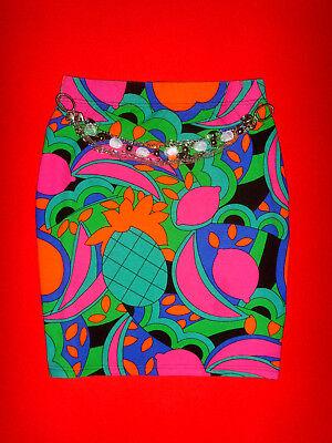 ORSAY MINI STRETCH ROCK TROPICAL LOOK ROMANTIK HIPPIE BoHo S 36 NEUW.!!! TOP !!!