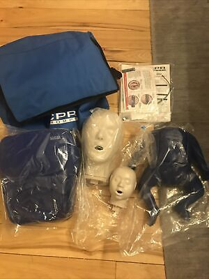 Cpr Prompt Adultchild And Infant Cpr Aed Training Manikin Tpak12 Value Pack New