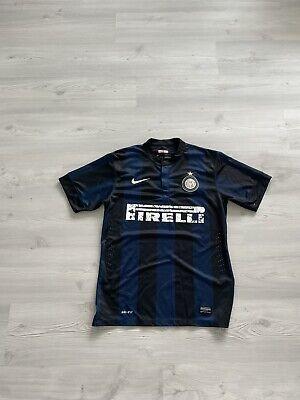 Inter Milan 2012/2013 Home Soccer Jersey Football Shirt NIKE Medium DRI-FIT image
