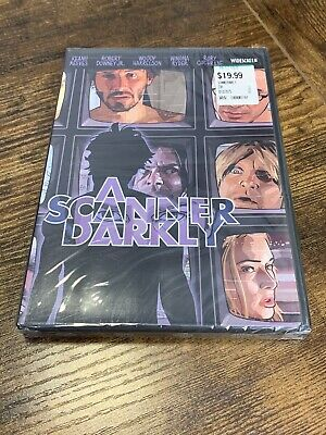 A Scanner Darkly ~ DVD NEW SEALED ~ Keanu Reeves, Robert Downey Jr, Winona Ruder