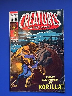 CREATURES ON THE LOOSE (1971 Marvel Comics) #12