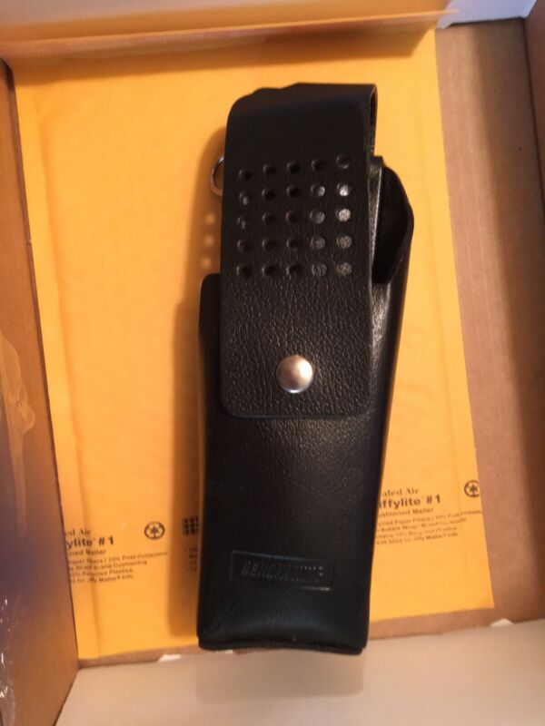 Bendix Leather Case Holster with Belt Loop and Cover New Other