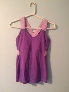 Lulu lemon tank top size 4