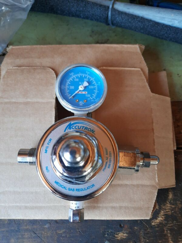 Accutron Nitrous Oxide Regulator