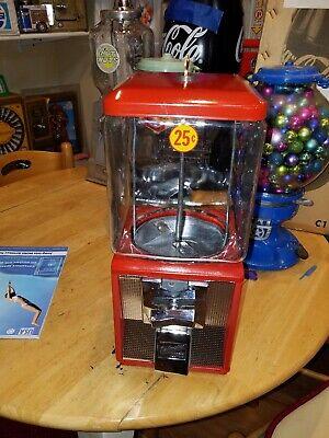 Original Glass Northwestern Candy / GUMBALL MACHINE model Reg. 60 Restore