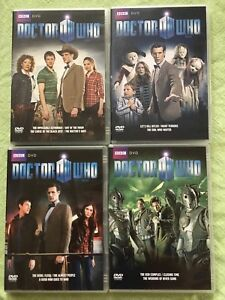 Doctor Who Series 6 DVD collection (Region 2)