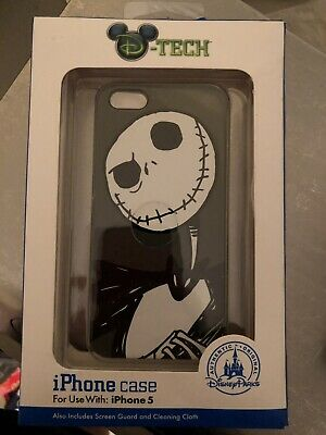 Disney Parks Authentic DTech iPhone 5 Case Nightmare Before Christmas Jack