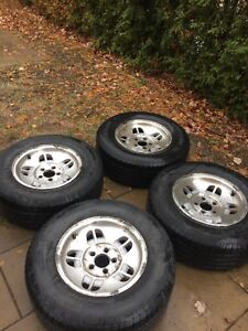 4x MAGS FORD RANGER 215/70/15