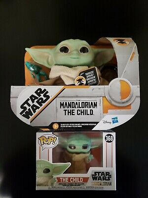 The Child Talking Plush And Funko Pop: Star Wars the Mandalorian. NEW! SOLD OUT!