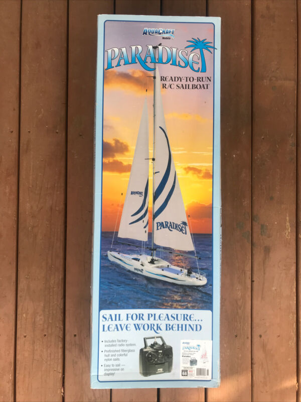AQUACRAFT PARADISE RC SAILBOAT FAST FREE SHIPPING