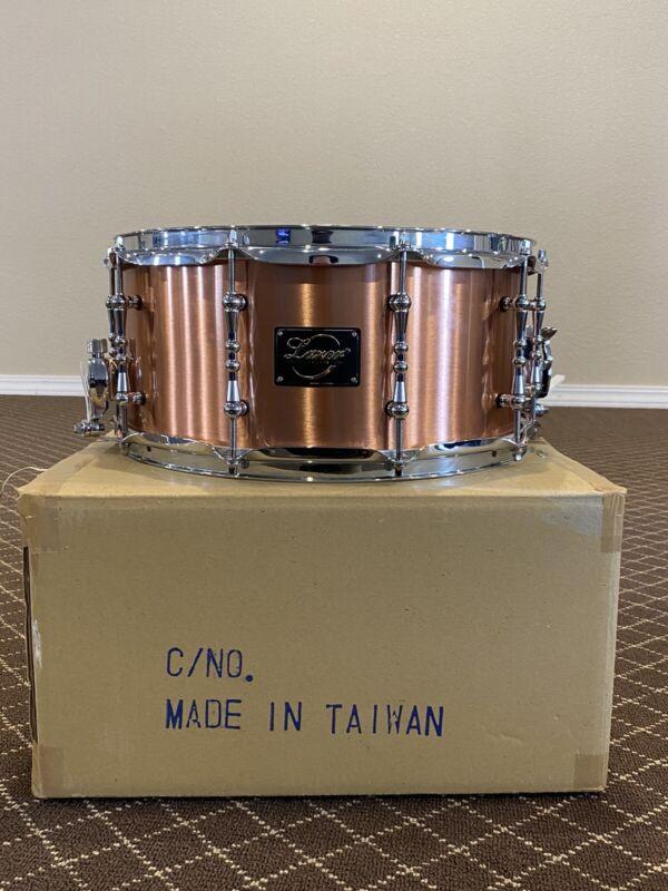 Copper Snare Drum 6.5x14