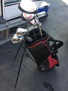 Golf clubs set RH