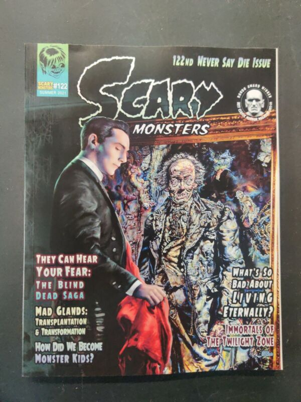 SCARY MONSTERS MAGAZINE #122 NM 5/19 2021