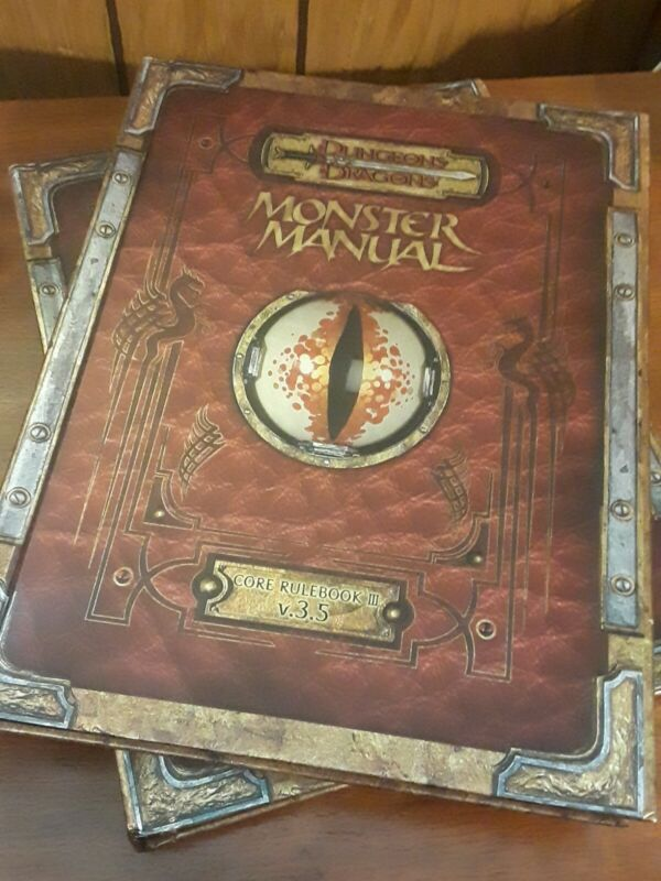 Premium Dungeons & Dragons 3.5 Monster Manual with Errata 2012