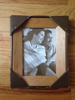 NEW Sonoma Natural Wood Picture Frame for 5x7 Photo (Natural Wood Frames)