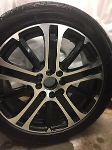"17"" RTX wheels and tires brand new !! Universal 4 bolt pattern"