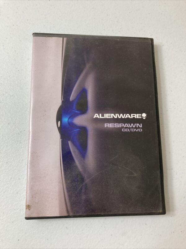 """Alienware Respawn CD/DVD """"HTF"""" """"RARE"""""""