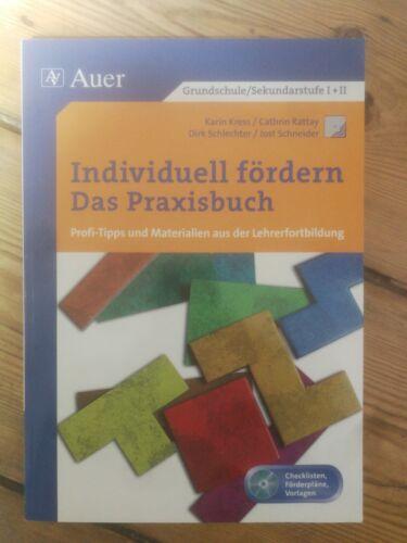 """Kress Rattay Schlechter Schneider """"Individuell fördern - Das Praxisbuch"""" Sek.1+2"""