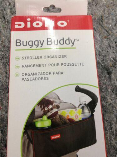 NEW Diono Buggy Buddy, Stroller Organizer, Black