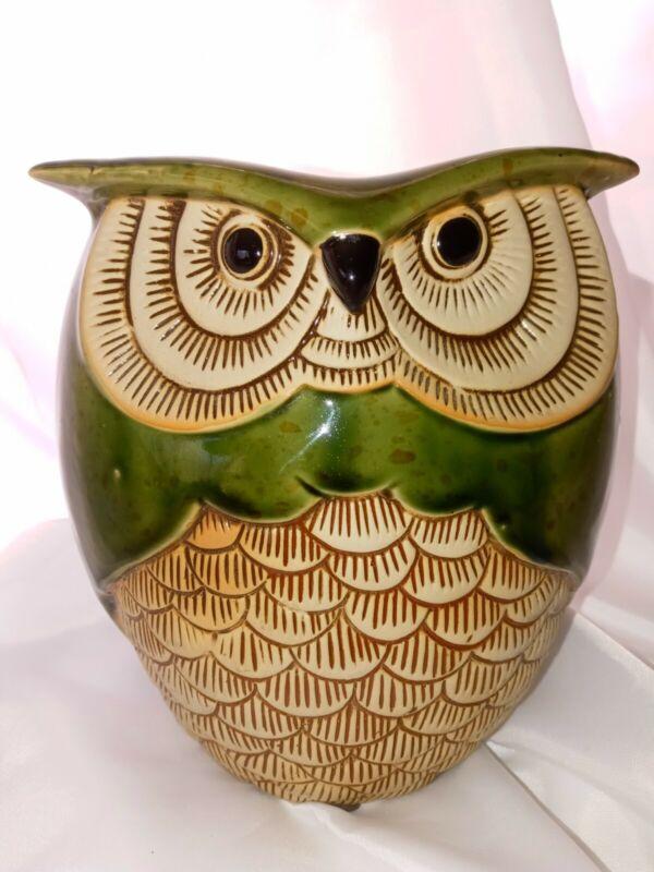 VTG Owl Planter