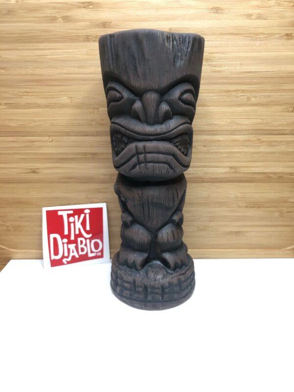 Undertow Tiki Diablo Ku style mug Brown #15