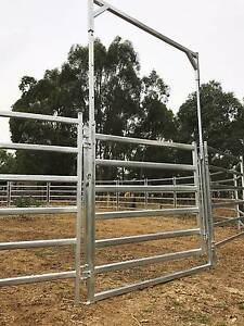 18m Diameter Horse Lunging Breaking Round Yard Panel 3m tall Gate Regency Park Port Adelaide Area Preview