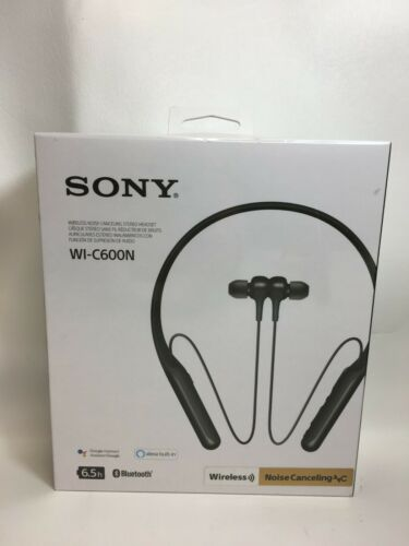 New in Package Sony WI-C600N Wireless Noise Cancelling In-Ear Headphones - Black