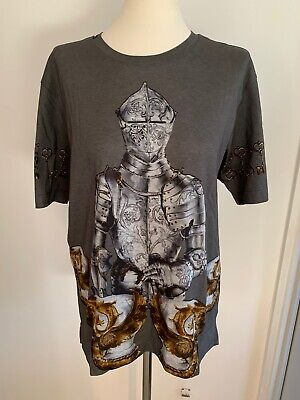 Dolce & Gabbana Knight Print T-shirt - International Ship