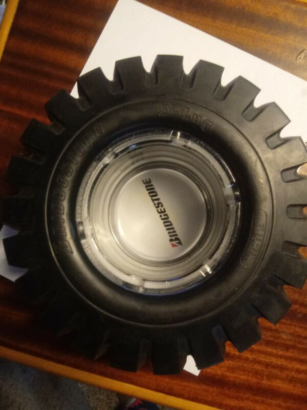 bridgestone tires tire ashtray in box