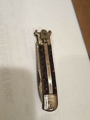 VINTAGE RARE GERMANY SPRINGER C 12 C 16 KNIFE CAN'T OPEN. GOOD CONDITION
