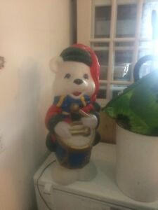 Christmas Polar Bear Decoration for Outdoors SOLD PPU
