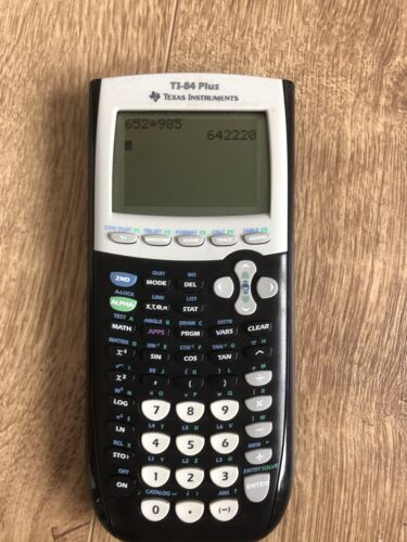 Texas Instruments TI-84 Plus Grafikrechner mit Gebrauchsspuren