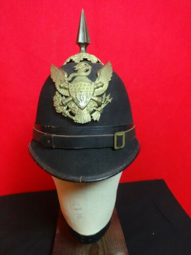 US ARTILLERY ELECTRICIAN 1881 ENLISTED MAN EM DRESS FELT HELMET HORSTMANN SUPER