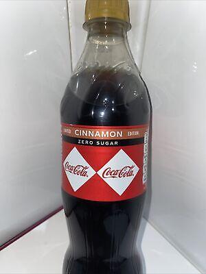 Coca-Cola Zero Sugar Cinnamon LIMITED EDITION 500ml