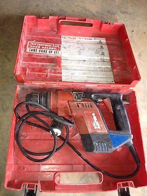 Hilti Rotary Hammer Drill Te5 Te-5 Ac Power Tool Used